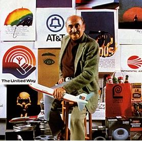 Saul Bass, designer and Academy Award winning filmmaker