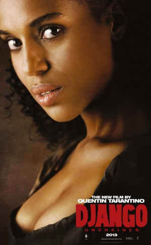 Django Unchained, Kerry Washington character poster