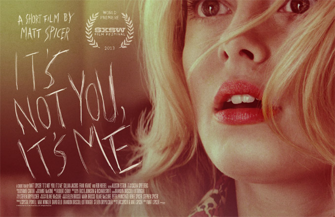 It's Not You, It's Me, Poster
