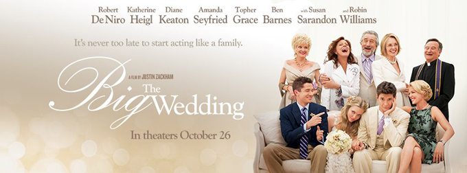 The Big Wedding banner