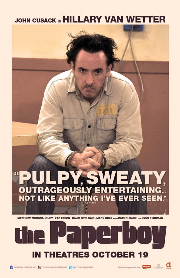 John Cusack The Paperboy Poster skip crop