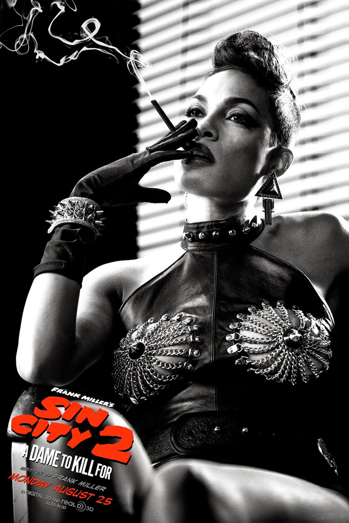 Sin City: A Dame To Kill For, posters