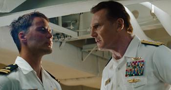 Kitsch and Neeson in Battlefield