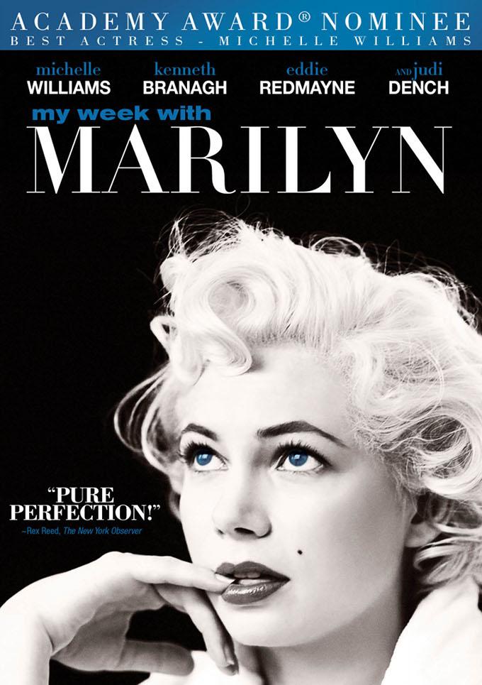 My Week With Marilyn DVD art