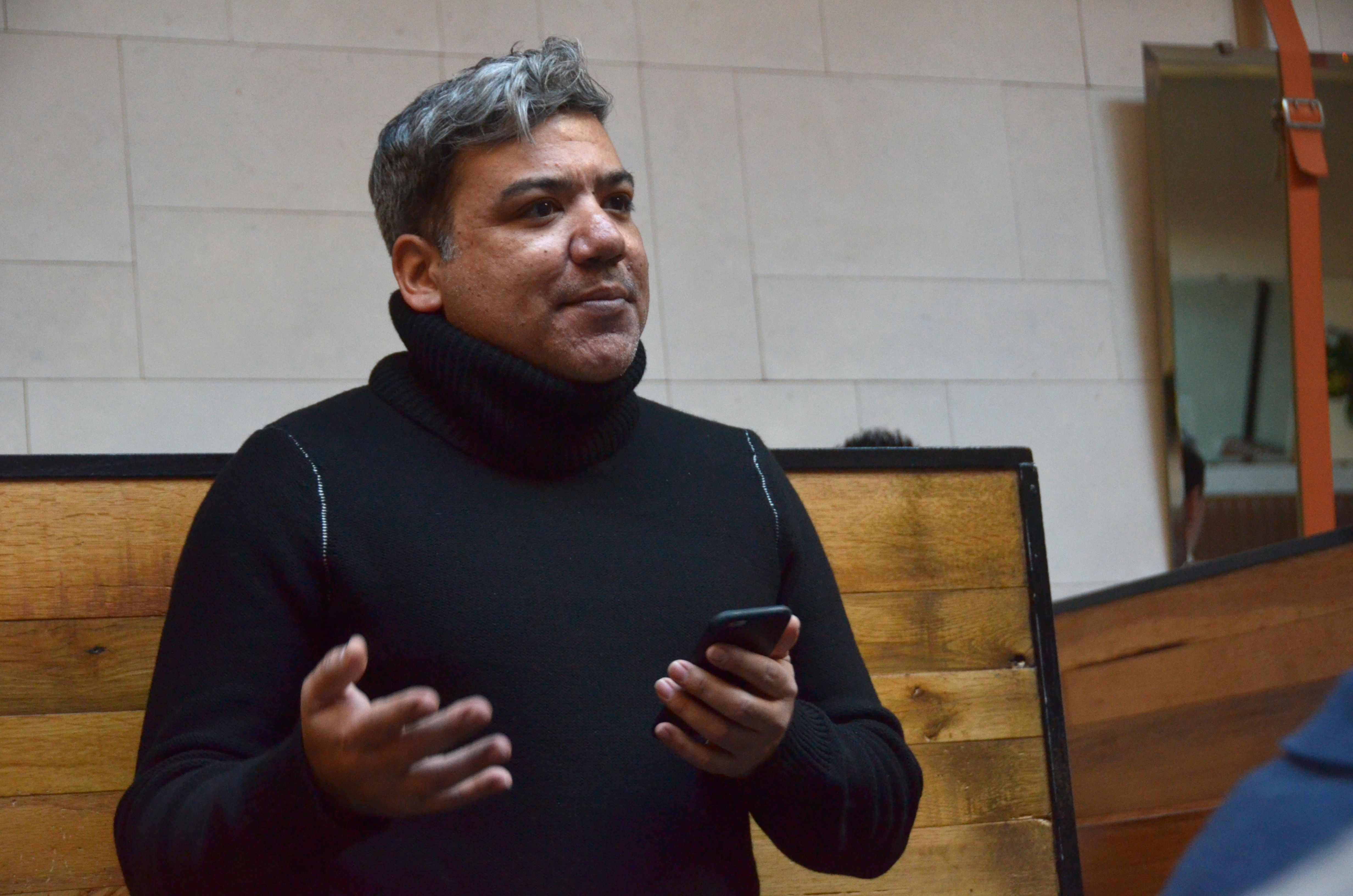 Eugene Hernandez, Deputy Director, Film Society of Lincoln Center, shares some remarks