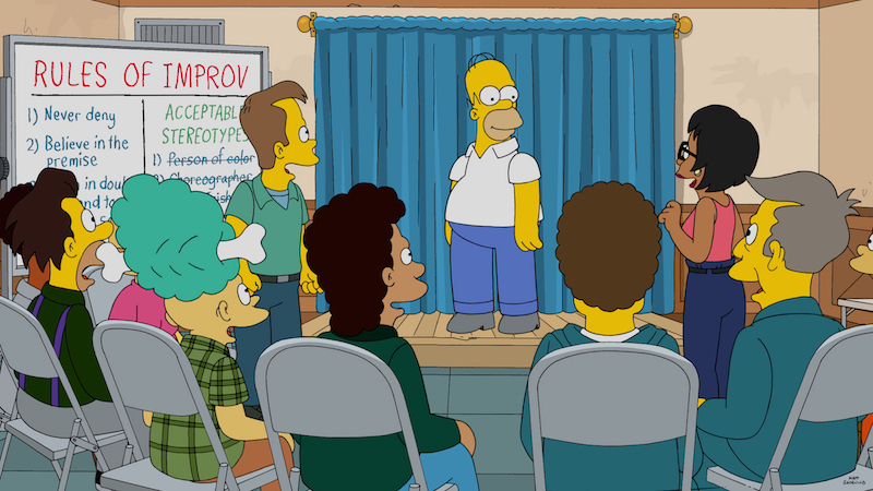 review the simpsons live episode stood out for the wrong reasons