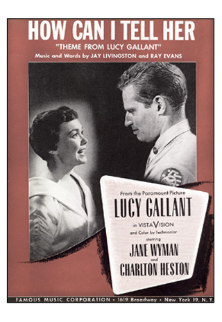 'How Can I Tell Her' was the theme song for this Jane Wyman and Charlton Heston starrer.