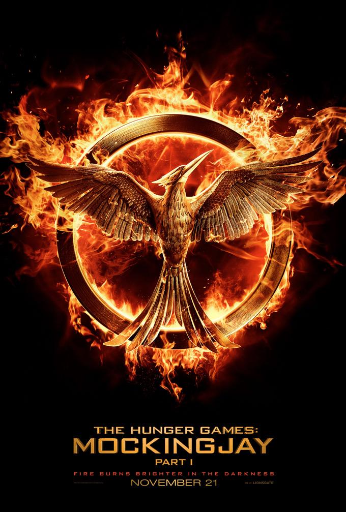 Mockingjay Part 1, poster, Hunger games