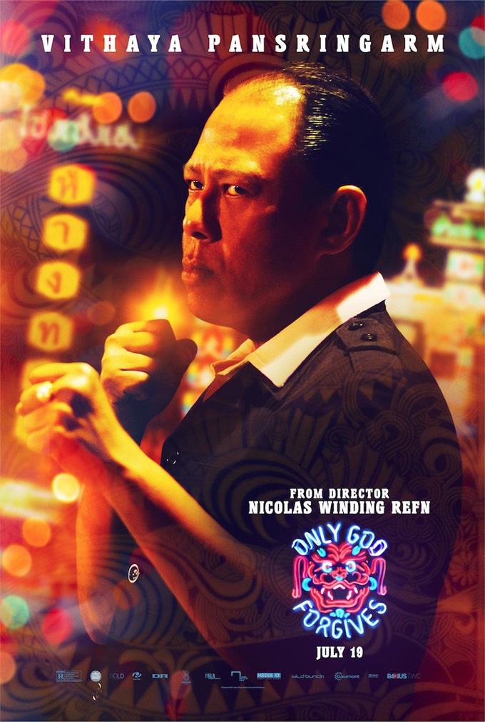Only God Forgives Poster - Vithaya