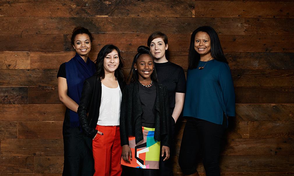 """The Fits"" - Annalise Lockhart, Lisa Kjerulff, Royalty Hightower, Anna Rose Holmer and Saela Davis"