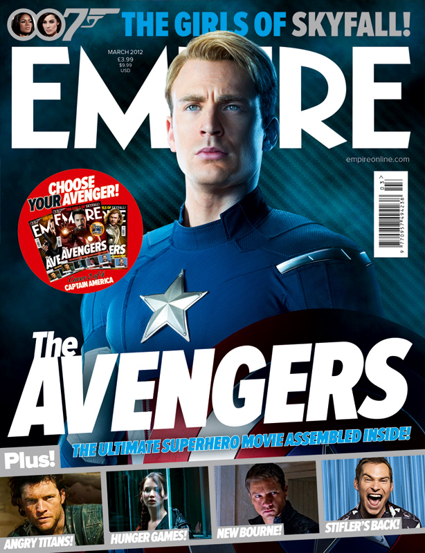 The Avengers Captain America Cover Empire