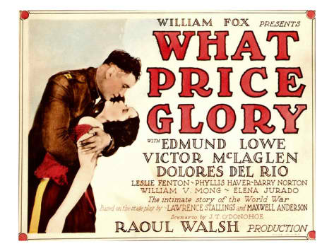 What Price Glory poster