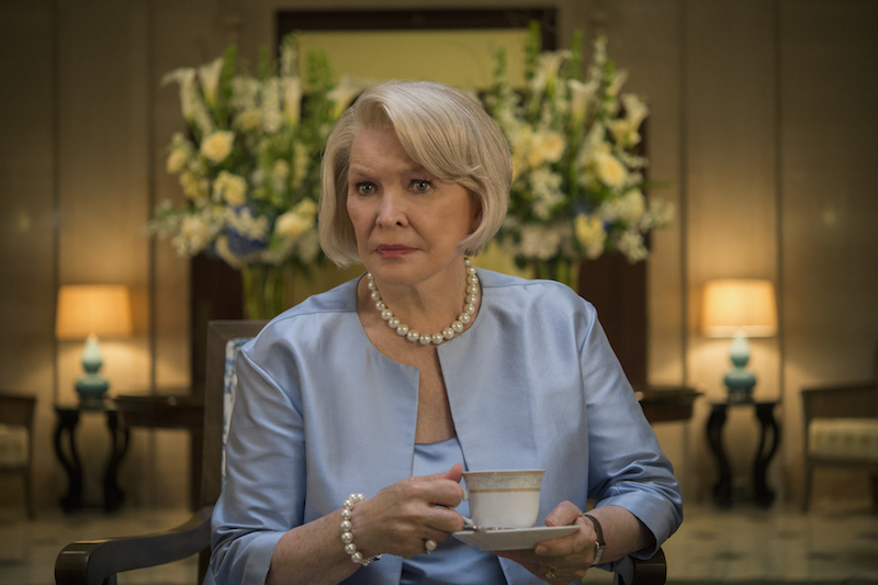 """House of Cards"" Season 4 Ellen Burstyn"