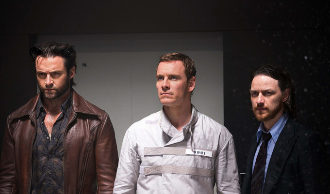 Hugh Jackman, Michael Fassbender, James McAvoy-680