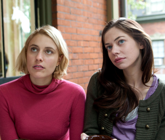 Greta Gerwig as Violet and Analeigh Tipton as Lily