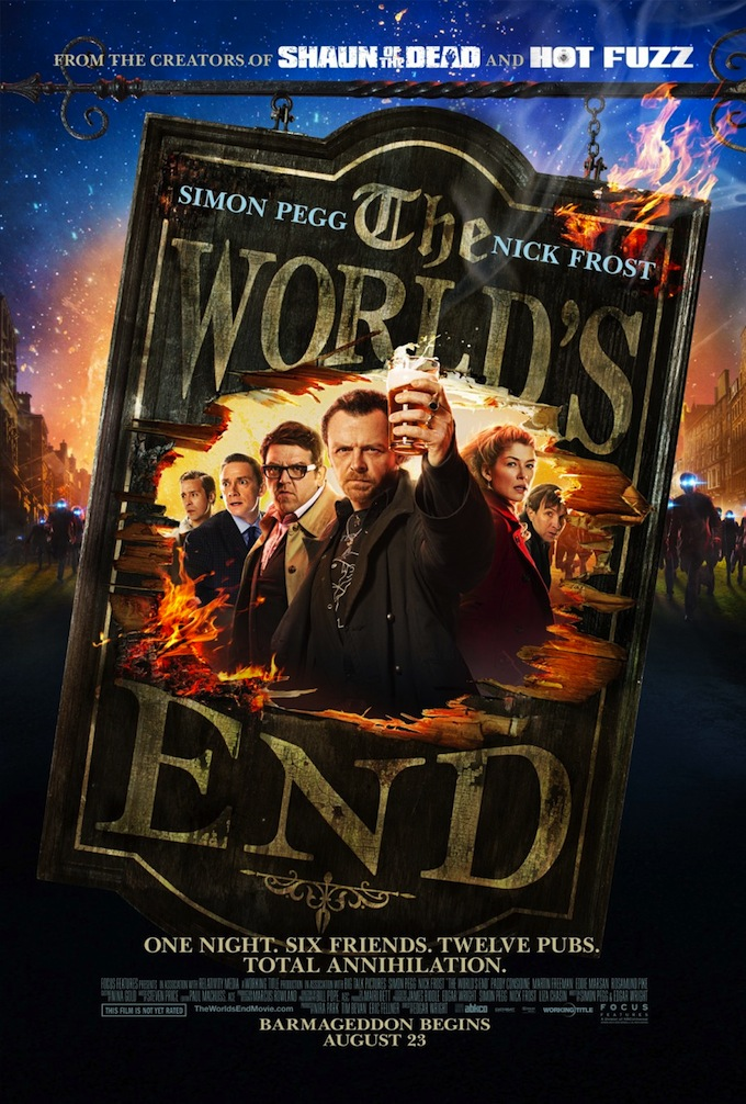The World's End, US Poster (skip)