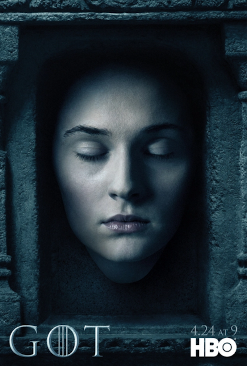"""Game of Thrones"" Season Six Sansa Stark Poster"