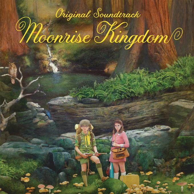 Moonrise Kingdom, soundtrack art hi-rez