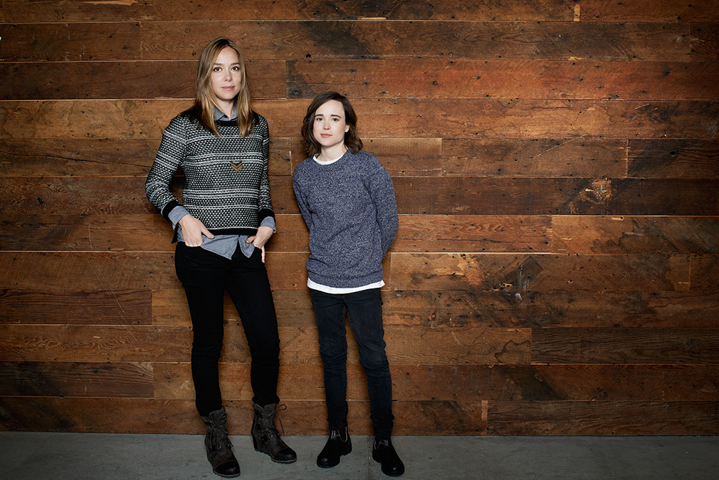 Sian Heder and Ellen Page