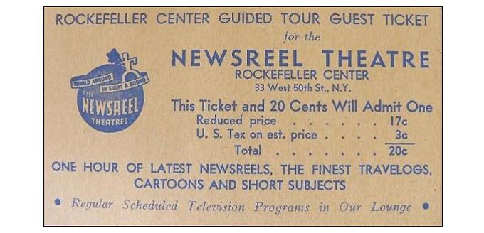 Newsreel ticket-680