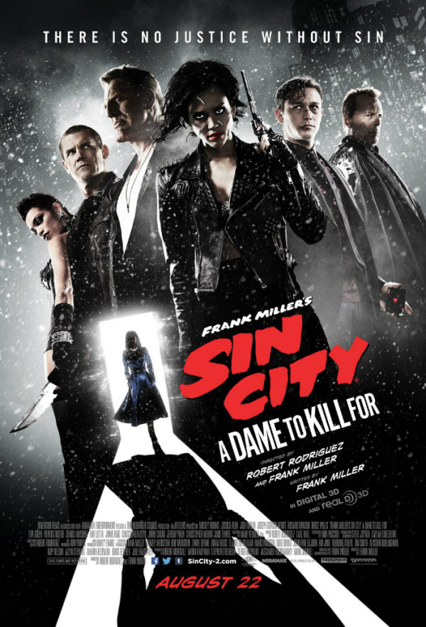 Sin City, Dame To Kill For, poster