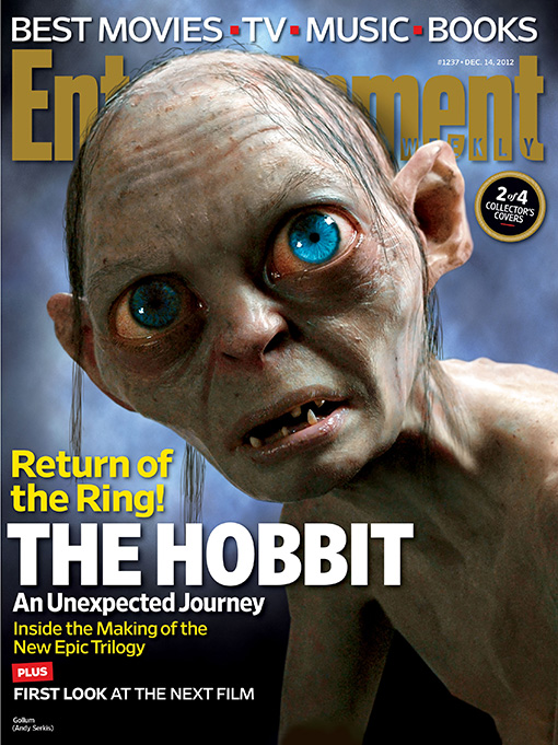 The Hobbit EW Cover