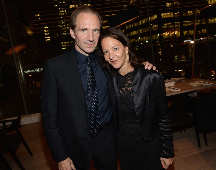 Ralph Fiennes and Gabrielle Tana