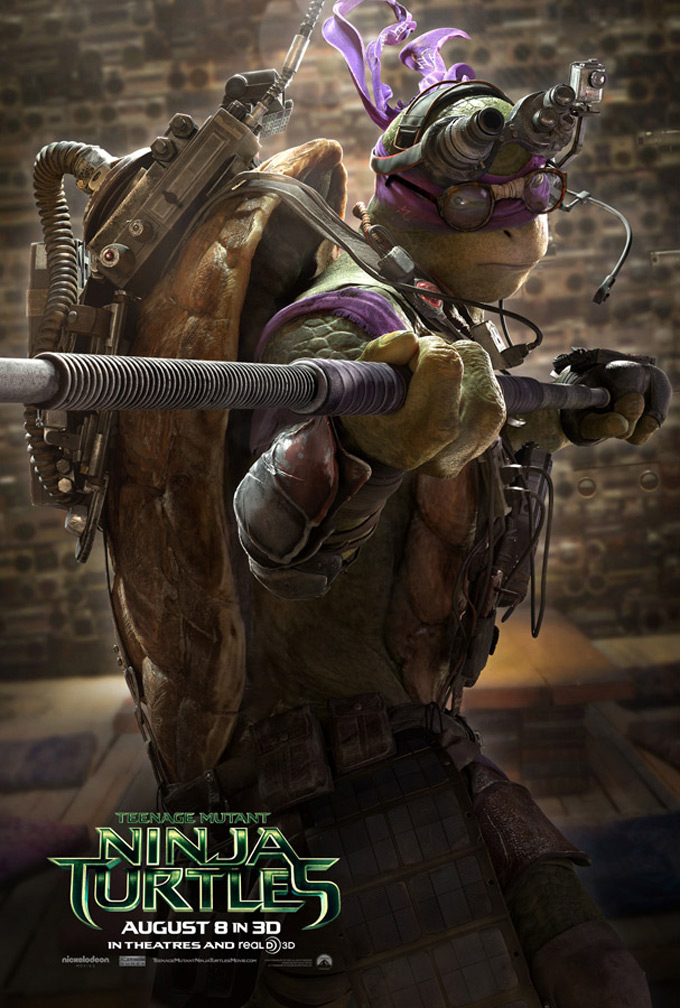 Teenage Mutant Ninja Turtles, poster