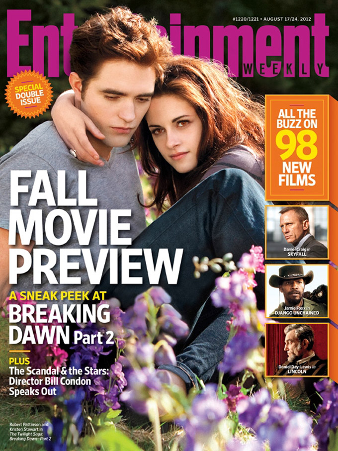 EW Breaking Dawn - Part 2 cover