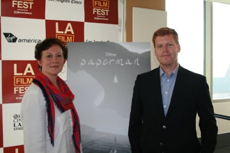 Producer Christina Reed and Director Jon Kahrs at the LA Film Festival