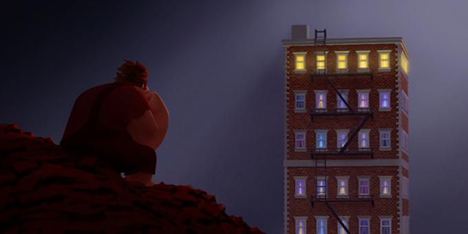 Wreck-It Ralph Building