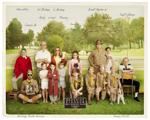 Moonrise Kingdom Vintage Photo skip crop