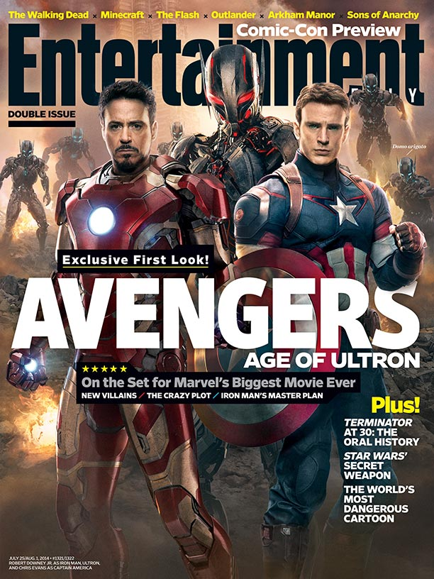 The Avengers: Age Of Ultron EW Cover