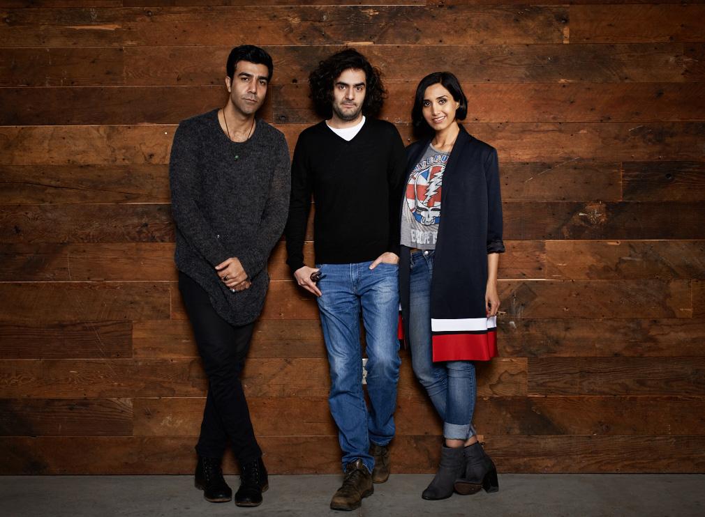 """Under the Shadow"" - Bobby Naderi, Babak Anvari and Narges Rashidi"