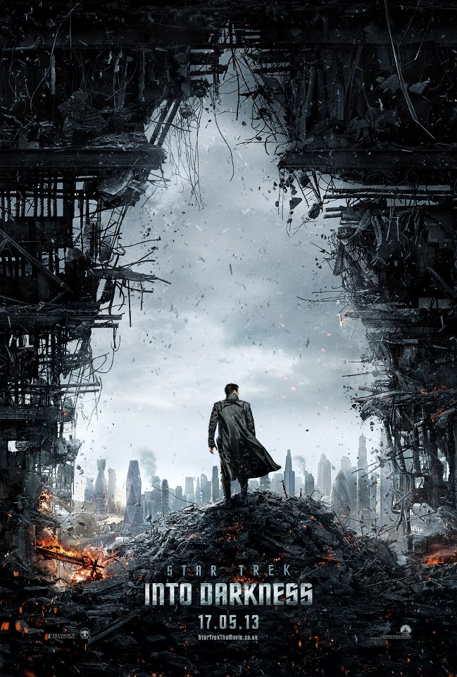 Star Trek Into Darkness Teaser Poster skip crop