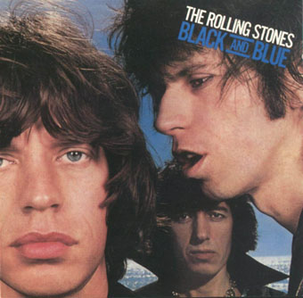 Rolling Stones Black & Blue cover