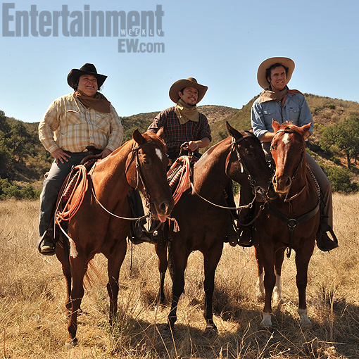 Casa De Mi Padre Will Ferrell Horses EW