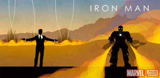 Marvel Phase One Iron Man Art
