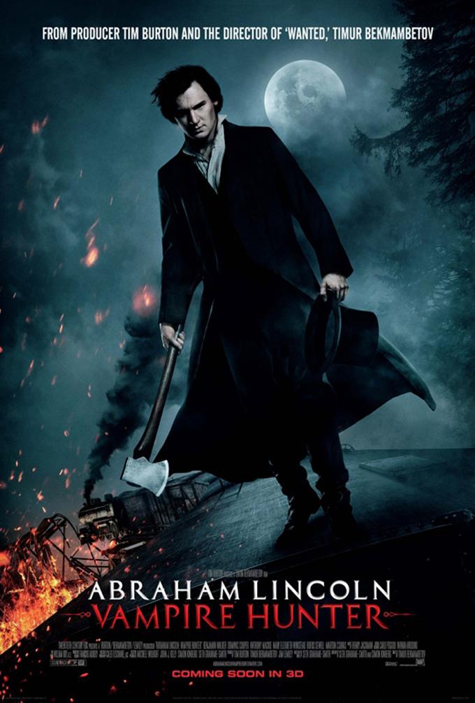 Abraham Lincoln: Vampire Hunter - poster full