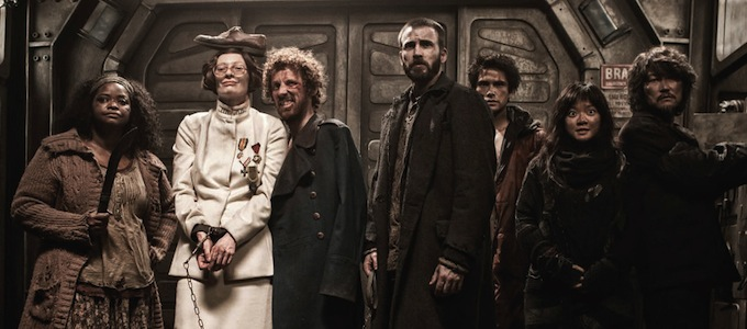 Snowpiercer, cast photo, skip
