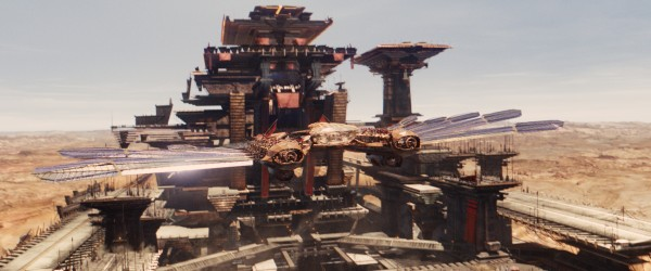 John Carter Spaceship
