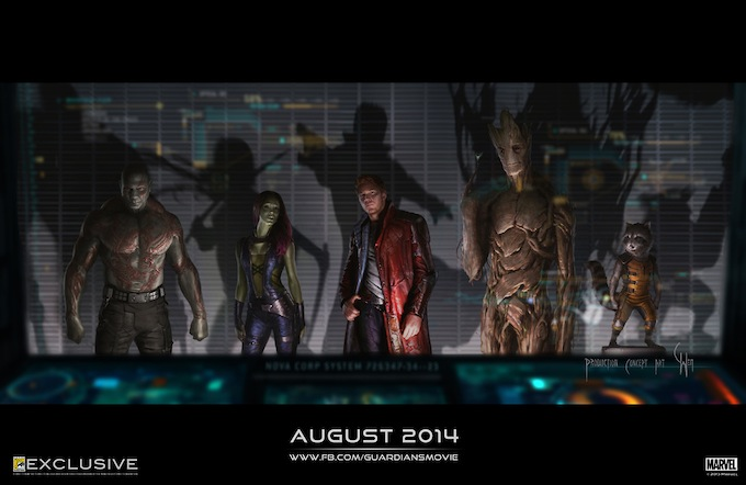 Guardians of The Galaxy, concept art, skip