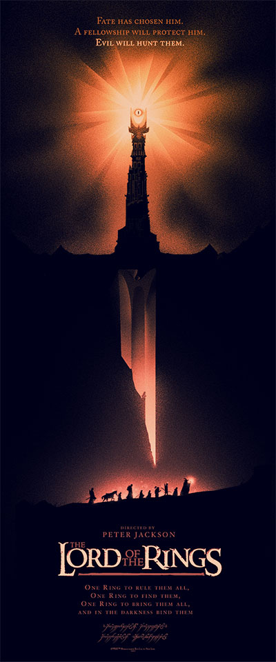 LOTR Mondo poster 2