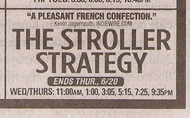 Stroller Strategy ad