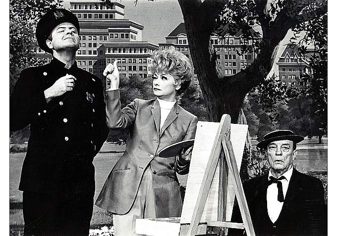 Harvey Korman, Lucille Ball Buster Keaton