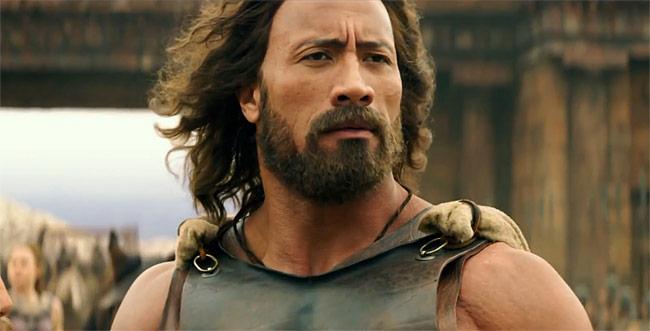 "Dwayne Johnson in ""Hercules"""