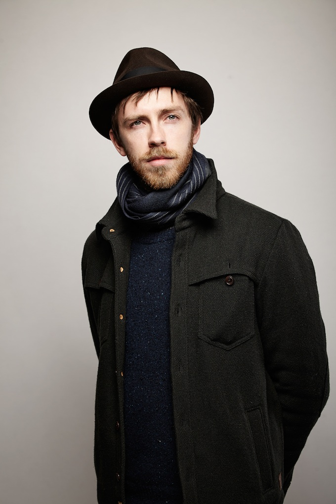 """Joe Anderson, cinematographer of """"Dig"""" at the Canon Craft Cocktails Portrait Studio at the 2014 Sundance Film Festival"""