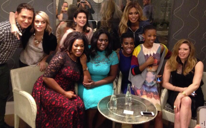 "Cast members of ""Orange is the New Black"""