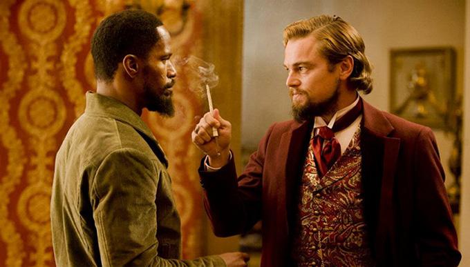 Leonardo DiCaprio Jamie Foxx Django skip crop