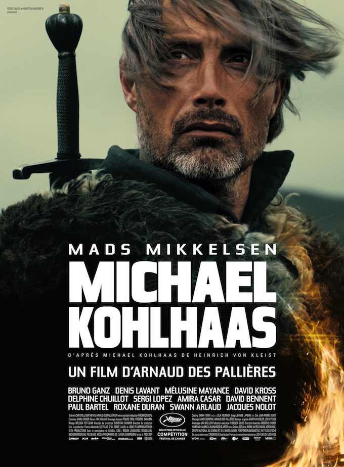 Mads Mikkelsen, MICHAEL KOHLHAAS, poster (skip)